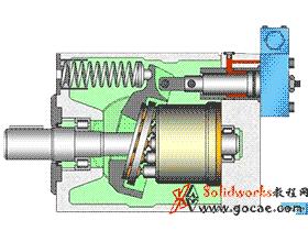 径向液压柱塞泵