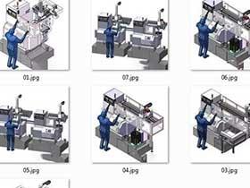 数控车床用桁架机械手的多种形式