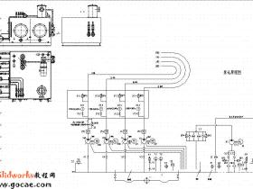 TK系列数控落地铣镗床液压系统结构设计