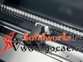 机床超长水平丝杆油压支撑装置