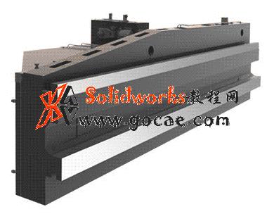 大型龙门机床 大跨距横梁卸荷装置