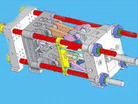 注塑机用弹性拉杆螺母
