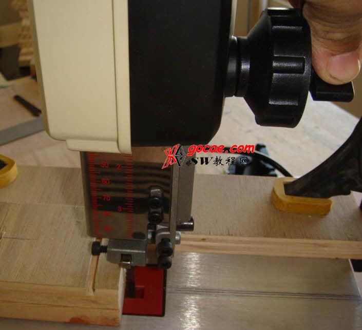 小型立式带锯台校正 立式带锯结构介绍 3D模型下载