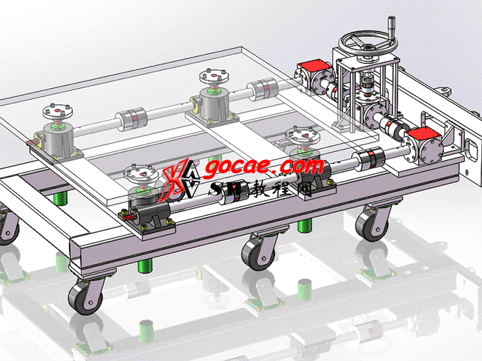 重型升降车 solidworks 案例讲解