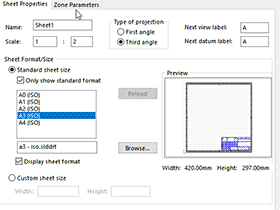 Solidworks工程图 #01 如何理解图纸格式   制做工程图模板