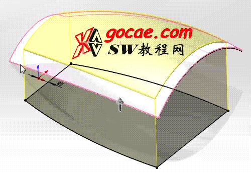 每日一练:#8  曲面网格的solidworks建模画法