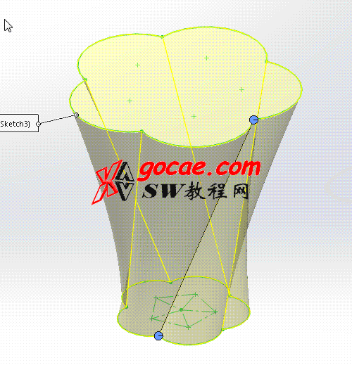 每日一练:#10  玻璃杯子的solidworks建模画法