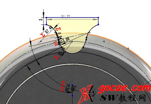 每日一练:#13 链轮的solidworks建模画法