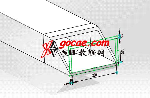 每日一练:#22 可以自动计算长度的运动拖链 solidworks建模画法