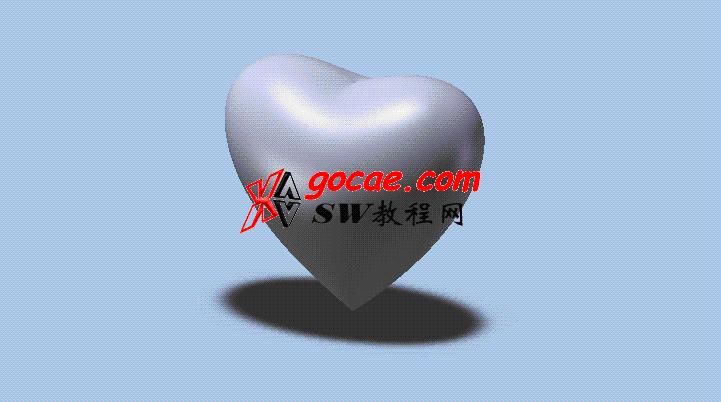 每日一练:#30 爱心 用solidworks如何创建
