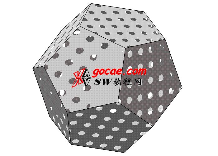 每日一练:#32 在solidworks中如何创建12面体?