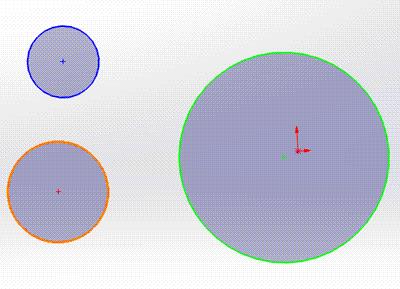 solidworks如何只改变草图某几个线条的颜色