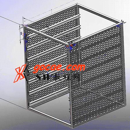 solidworks焊件-教程#10-货架-方通结构构件绘制工具-视频教程