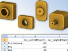 SW基本技术_09_系列零件设计表 Solidworks_指导教程 视频教程