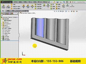 005-2.-solidworks 阵列特征 视频教程